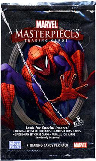Skybox Marvel Masterpieces Series 1 Trading Card Pack