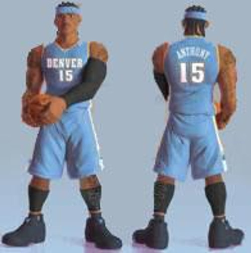 NBA Denver Nuggets All Star Vinyl Carmelo Anthony Vinyl Figure [Light Blue Away Jersey]