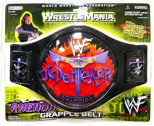 WWE Wrestling Kids Replicas Undertaker Championship Championship Belt