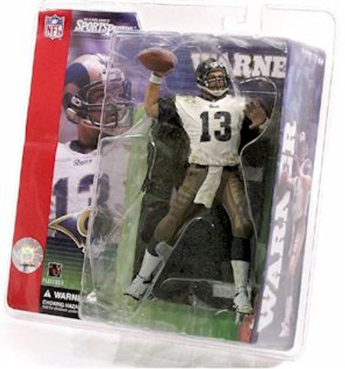 McFarlane Toys NFL St. Louis Rams Sports Picks Series 1 Kurt Warner Action Figure [White Jersey, Clean]