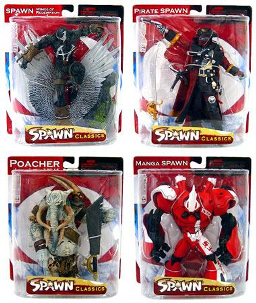 McFarlane Toys Spawn Series 34 Neo-Classics Set of 4 Action Figures