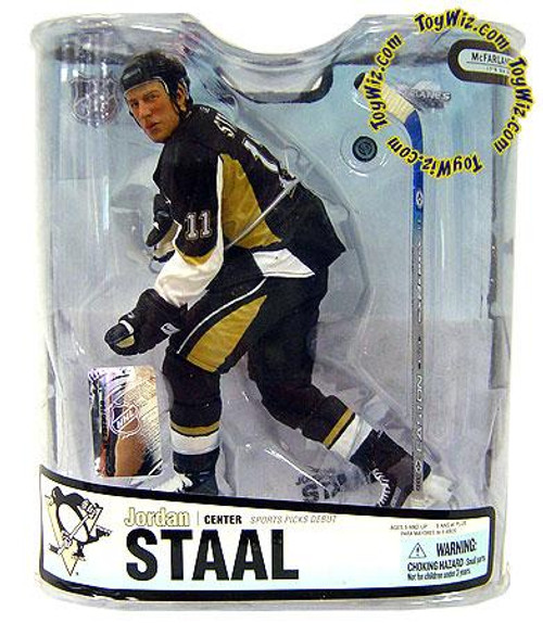 McFarlane Toys NHL Pittsburgh Penguins Sports Picks Series 18 Jordan Staal Action Figure [Black Jersey]