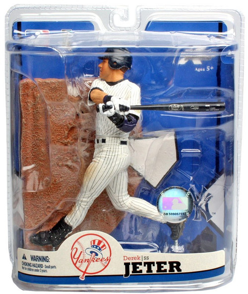 McFarlane Toys MLB New York Yankees Sports Picks Series 22 Derek Jeter Action Figure [Dirty Pants]