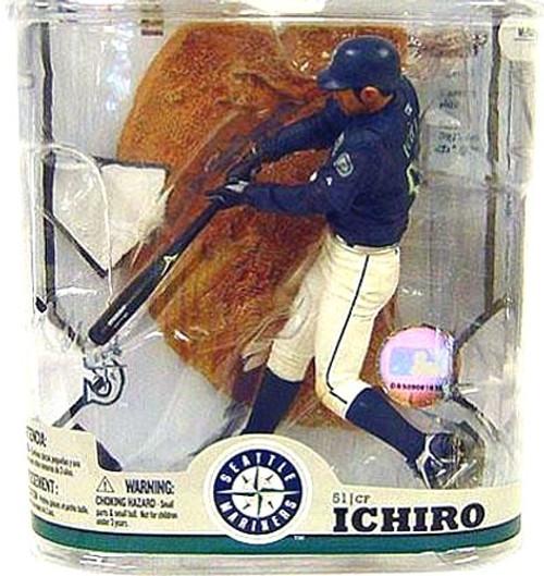 McFarlane Toys MLB Seattle Mariners Sports Picks Series 22 Ichiro Suzuki Action Figure [With Baseball]