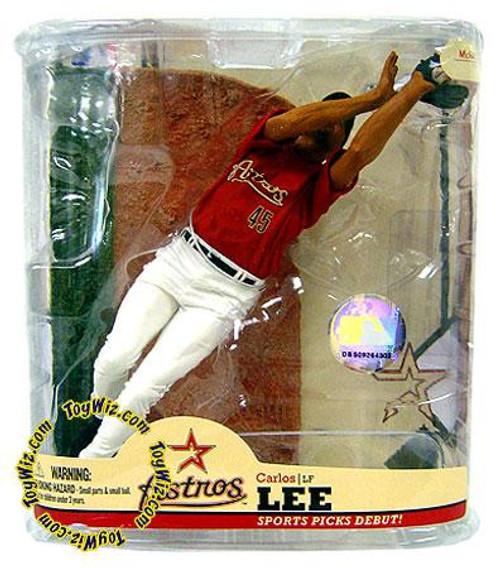 McFarlane Toys MLB Houston Astros Sports Picks Series 22 Carlos Lee Action Figure
