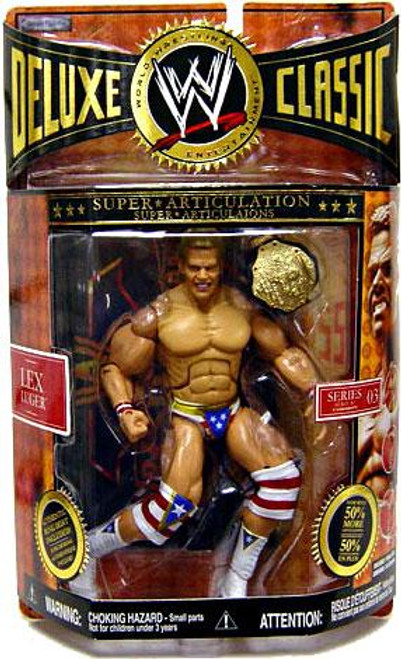 WWE Wrestling Deluxe Classic Superstars Series 3 Lex Luger Exclusive Action Figure