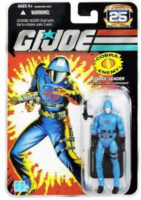 GI Joe 25th Anniversary Wave 4 Cobra Commander Action Figure