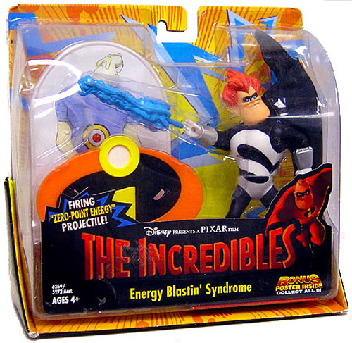 Disney / Pixar The Incredibles Energy Blastin' Syndrome Action Figure