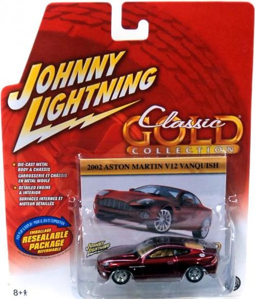 Johnny Lightning Classic Gold Collection 2002 Aston Martin V12 Vanquish Diecast Car