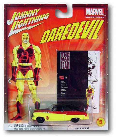 Johnny Lightning Daredevil Bumongous Diecast Car #5