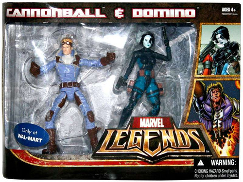 Marvel Legends Cannonball & Domino Exclusive Action Figure 2-Pack