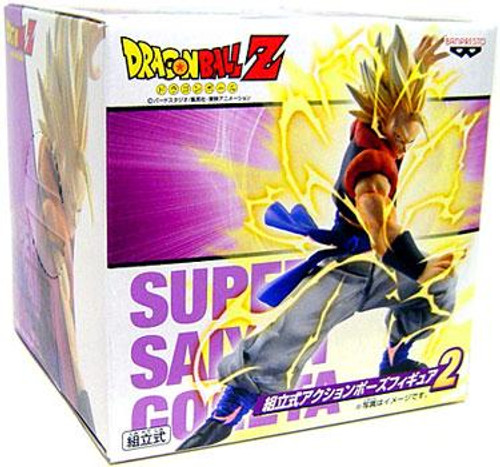 Dragon Ball Z Super Saiyan Gogeta 5-Inch PVC Statue