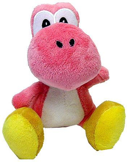 Nintendo Super Mario Super Yoshi Island Yoshi 6-Inch Plush [Pink]