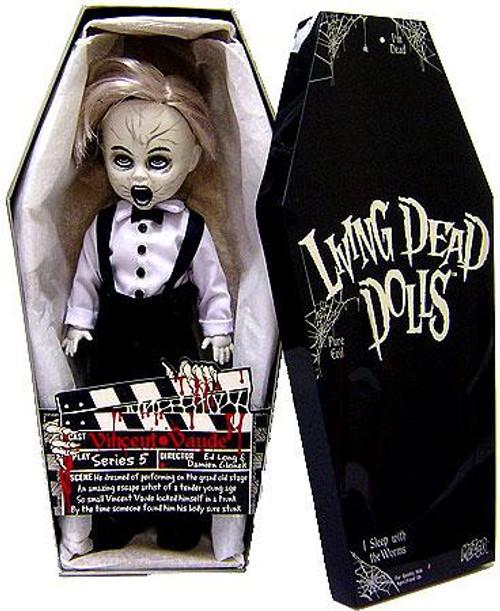 Living Dead Dolls Series 5 Vincent Vaude Exclusive Doll [Black & White Exclusive]