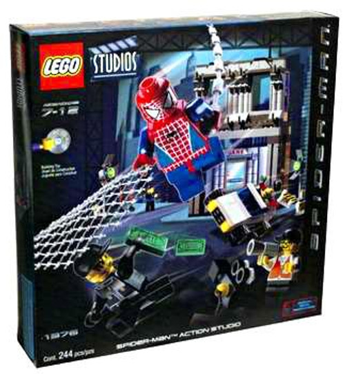 LEGO Studios Spider-Man Action Studio Set #1376