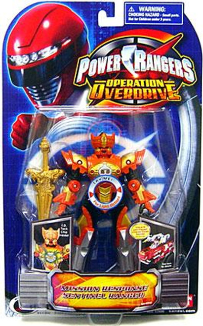 Power Rangers Operation Overdrive Mission Response Sentinel Ranger Action Figure