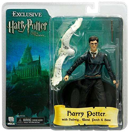 NECA The Order of the Phoenix Harry Potter Exclusive Action Figure [With Hedwig]