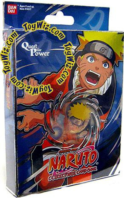 Card Game Quest for Power Naruto Theme Deck [Blue]