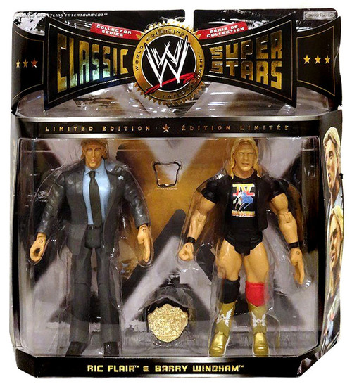 WWE Wrestling Classic Superstars Series 7 Ric Flair & Barry Windham Exclusive Action Figure 2-Pack