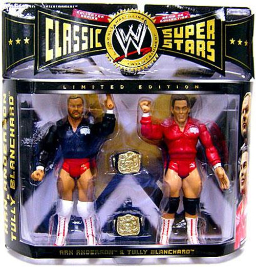 WWE Wrestling Classic Superstars Series 7 Arn Anderson & Tully Blanchard Exclusive Action Figure 2-Pack