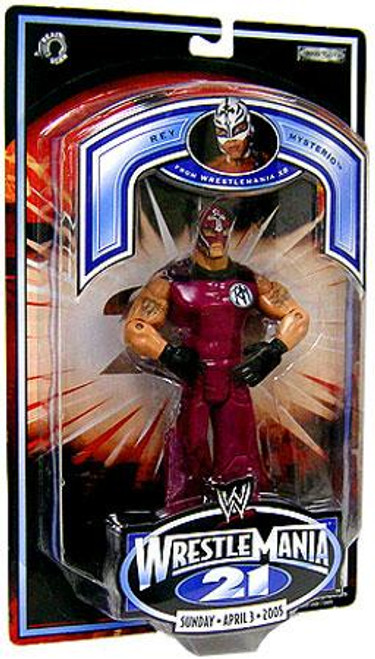 WWE Wrestling WrestleMania 21 Series 1 Rey Mysterio Exclusive Action Figure