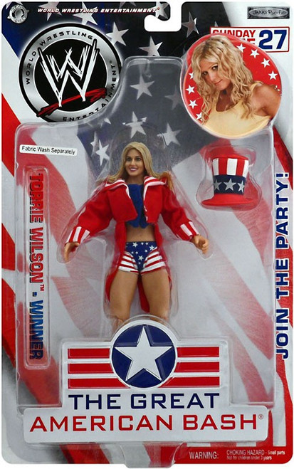 WWE Wrestling The Great American Bash Torrie Wilson Action Figure