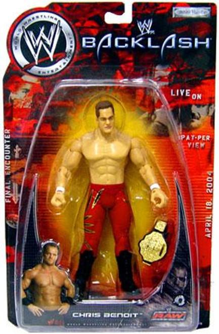 WWE Wrestling Backlash 2003 Chris Benoit Action Figure