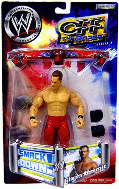 WWE Wrestling Off The Ropes Series 7 Chris Benoit Action Figure