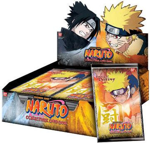 Naruto Card Game Battle of Destiny Booster Box [24 Packs]