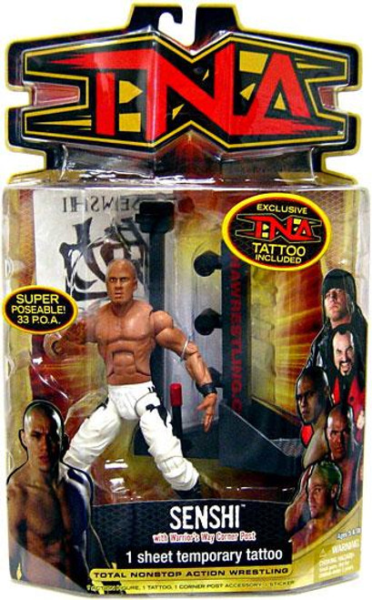 TNA Wrestling Series 8 Senshi Action Figure