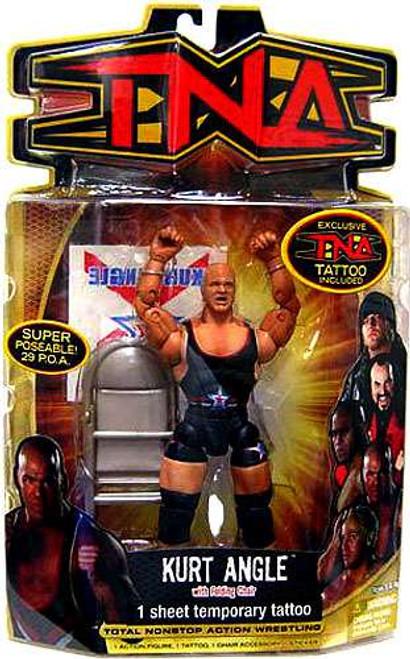 TNA Wrestling Series 8 Kurt Angle Action Figure