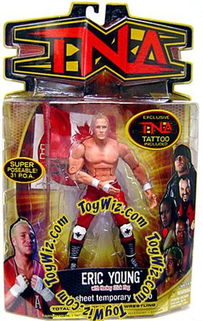TNA Wrestling Series 8 Eric Young Action Figure [Canadian Flag]