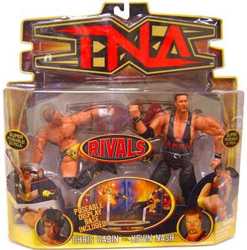 TNA Wrestling Rivals Chris Sabin vs. Kevin Nash Action Figure 2-Pack