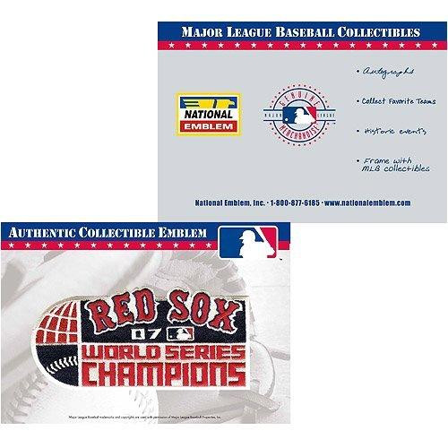 MLB Authentic Collectible Emblem Boston Red Sox Patch [World Series Champions]