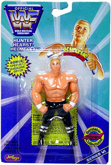 WWE Wrestling WWF Bend-Ems Series 6 HHH Triple H Rubber Figure