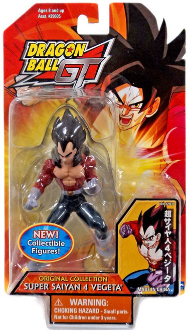 Dragon Ball GT Original Collection Super Saiyan 4 Vegeta 4.5-Inch PVC Figure [SS4]