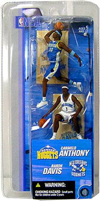 McFarlane Toys NBA Basketball NBA Sports Picks Series 2 Carmelo Anthony & Baron Davis Figure 2-Pack