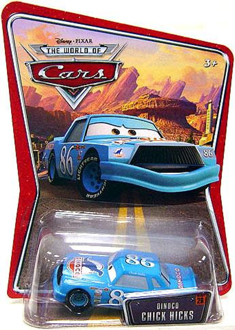 Disney Cars The World of Cars Series 1 Dinoco Chick Hicks Diecast Car