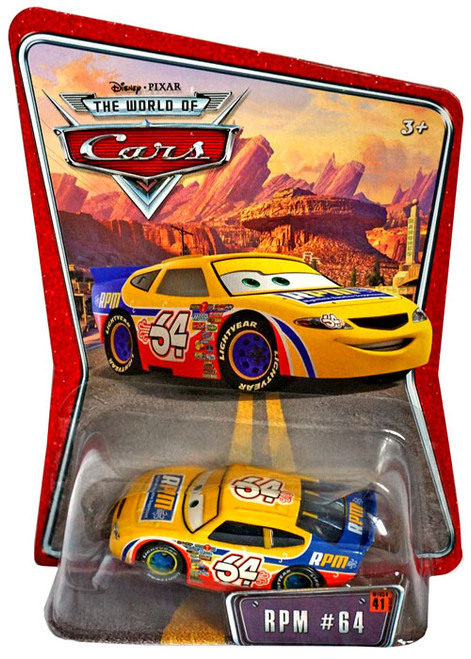Disney Cars The World of Cars Series 1 RPM No. 64 Diecast Car