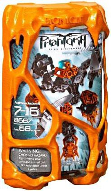 LEGO Bionicle Phantoka Toa Pohatu Set #8687