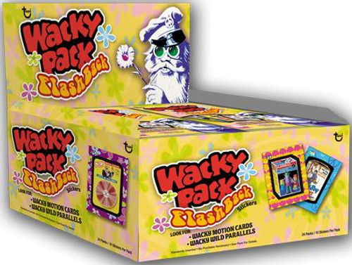 Wacky Packages Flashback 1 Wacky Packages Flashback Trading Card Sticker Box