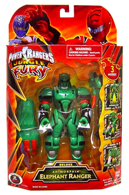 Power Rangers Jungle Fury Deluxe Animorphin' Elephant Ranger Action Figure