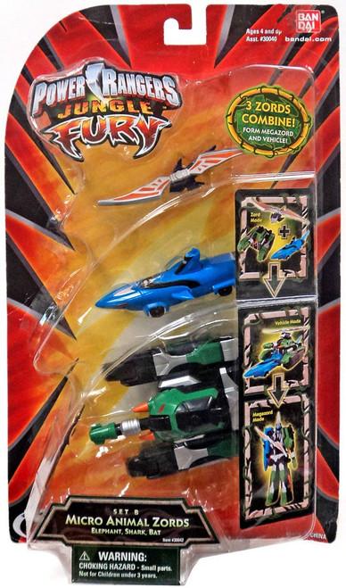 Power Rangers Jungle Fury Micro Animals Micro Animal Zord Minifigures [Set B]