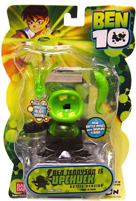 Ben 10 Alien Collection Series 2 Upchuck Action Figure [Battle Version]