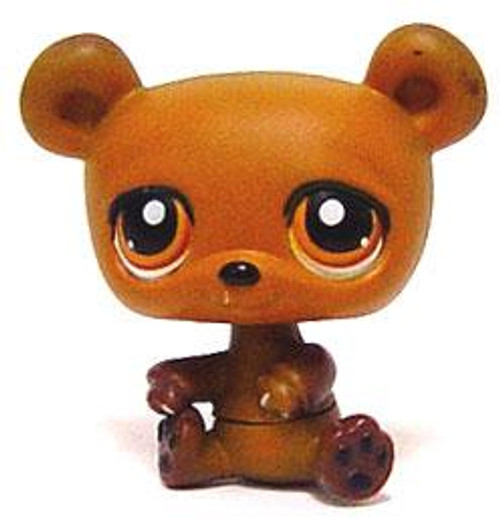 Littlest Pet Shop Baby Bear Figure #395 [Brown Loose]