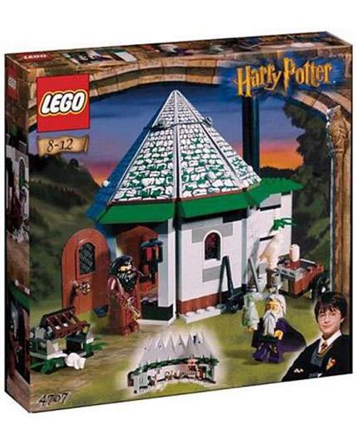 LEGO Harry Potter Series 1 Sorcerer's Stone Hagrid's Hut Set #4707