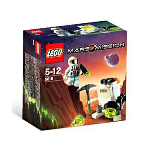 LEGO Mars Mission Mini Robot Exclusive Set #5616