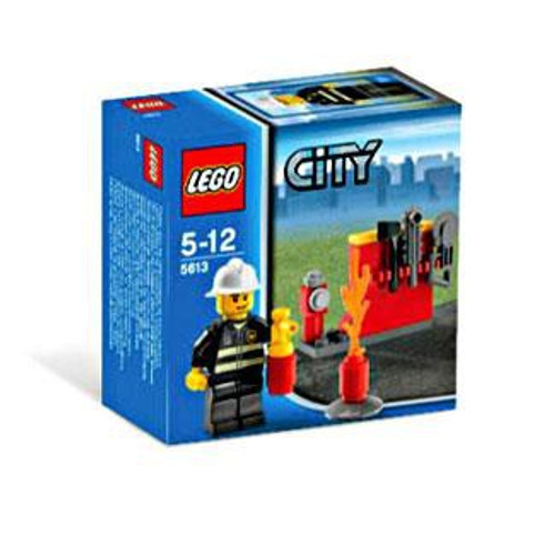 LEGO City Firefighter Exclusive Set #5613