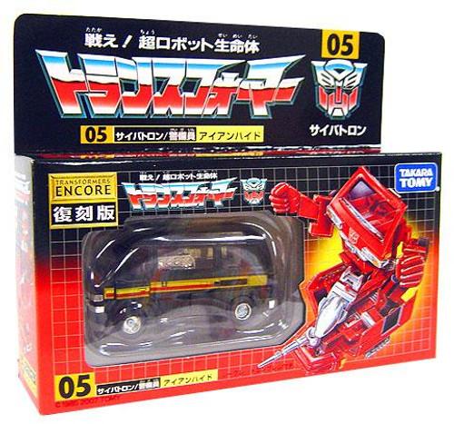 Transformers Japanese Renewal Encore Ironhide Exclusive Action Figure #05 [Movie Colors]