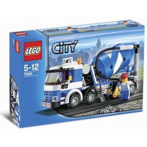 LEGO City Cement Mixer Set #7990